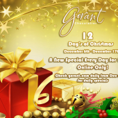 12 Day's of Christmas! 12 Days of Specials!