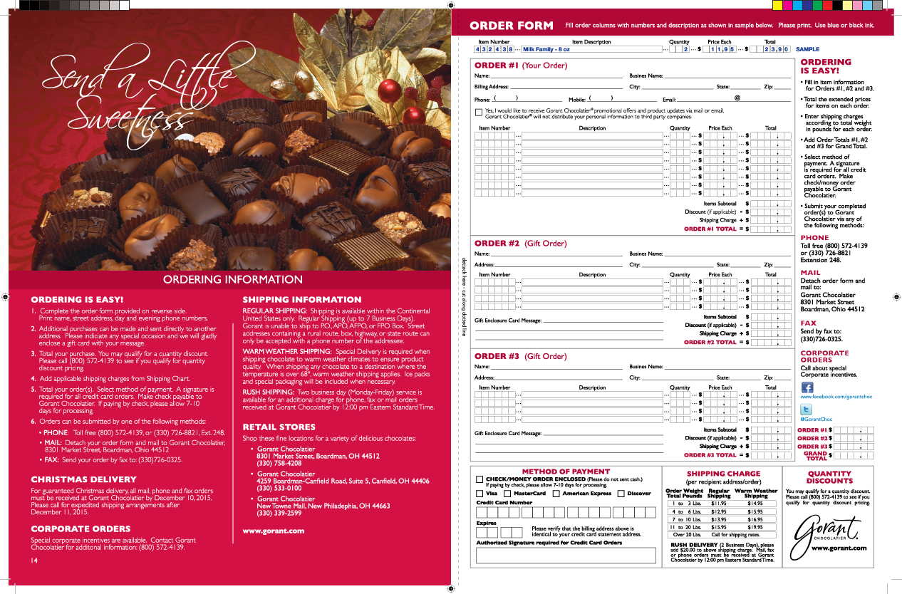 to request a catalog in the mail - Christmas Mail Order Catalogs