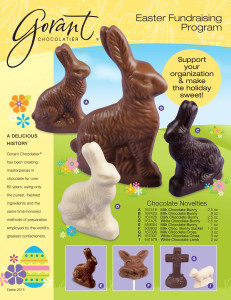 Easter Chocolate Fundraiser - Gorant Chocolatier