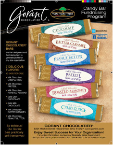 Candy Bar Fundraiser Gorant Chocolate