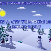 Day # 8 Of Our 12 Days Of Christmas